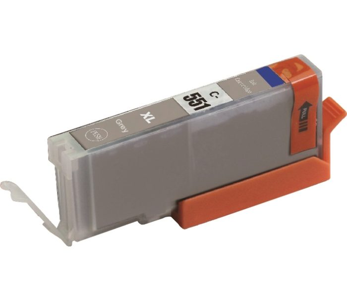Vervangende cartridge voor  Canon CLI 551 GY XL
